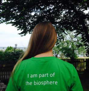 I am part of the biosphere T-shirt
