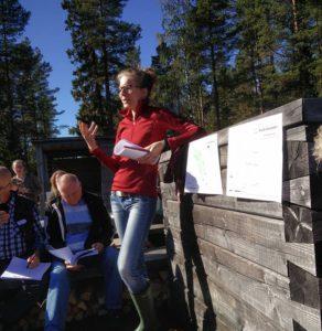 Hanna Alfredsson, koordinator Biosfärkandidat Voxnadalen