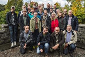 Gruppfoto konferensdeltagare